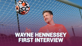 SIGNING | Wayne Hennessey's First Interview After Joining Burnley