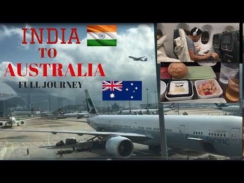INDIA  To AUSTRALIA | Full Journey | Punjabi Student| Travelogue
