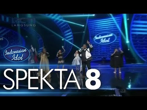 ALL CONTESTANTS - IDOLA INDONESIA - Spekta Show Top 8 - Indonesian Idol 2018