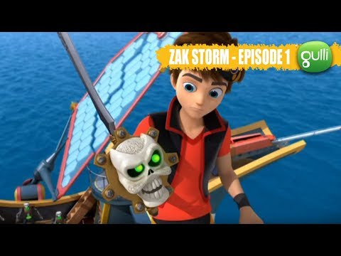 Zak Storm Episode n°1, Origines  1ère Partie ! Rejoins le super pirate sur Gulli !