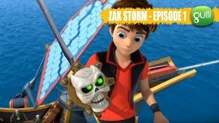Zak Storm Episode n°1, Origines - 1ère Partie ! Rejoins le super pirate sur Gulli ! streaming