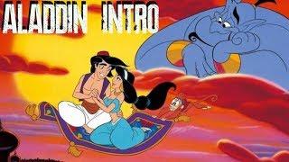 Интро мультфильма Аладдин 1992 Арабская ночь Aladdin 1992 Intro