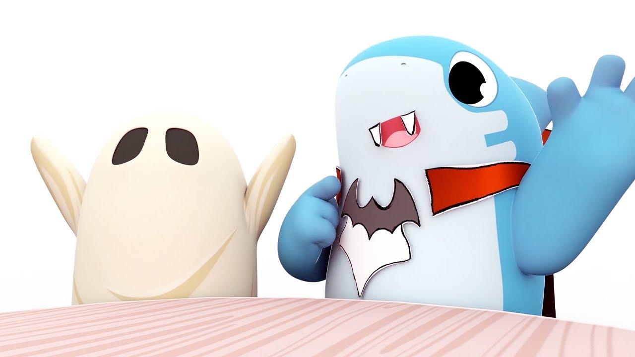 Familia Dedo #Halloween 🎃 - Shark Academy | El Reino Infantil