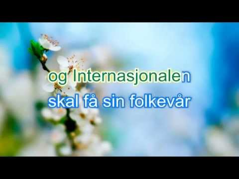 Internasjonalen. karaoke: norsk bokmål
