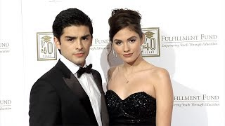 Diego Tinoco and Ronni Hawk 'A Legacy of Changing Lives' Gala Red Carpet