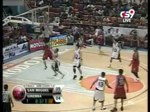 Ginebra vs San Miguel QuarterFinals Game2 Part1 from YouTube · Duration:  10 minutes 40 seconds