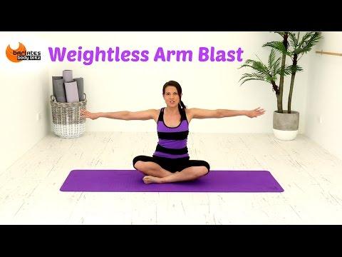 FREE Ballet Barre Arms Workout - BARLATES Weightless Arm Blast with Linda Wooldridge