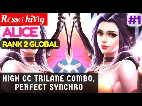 High CC Trilane Combo, Perfect Synchro [Rank 2 Alice] | Rєssσ kiทg Alice Gameplay and Build #1
