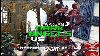 Dark Angels Vs Tau: Warhammer 40K Battle Report - Mission Two