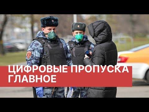 Цифровые пропуска в Москве. Главное. Все что нужно знать о пропускном режиме в Москве и Подмосковье