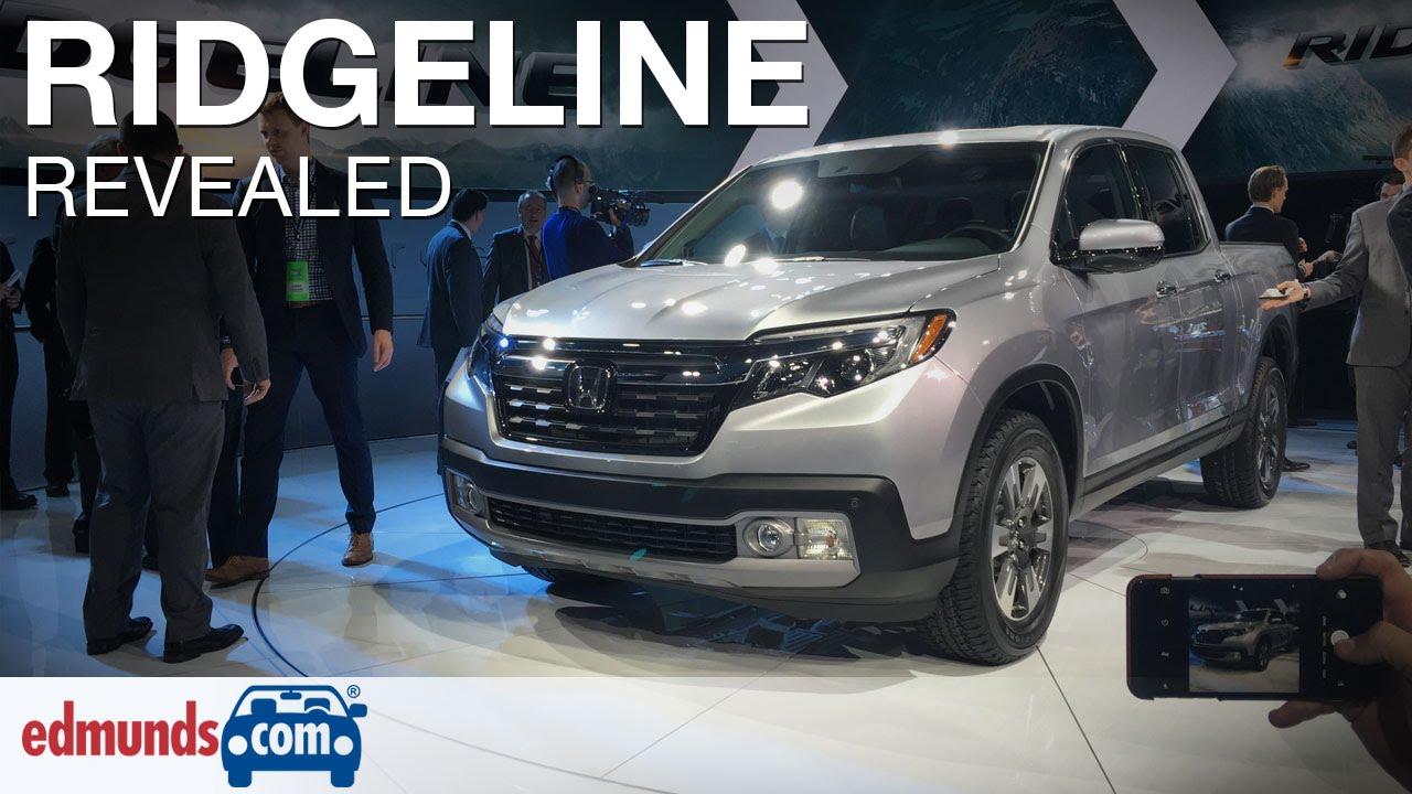 2017 honda ridgeline revealed detroit auto showDetroit Honda Ridgeline 2017 #12