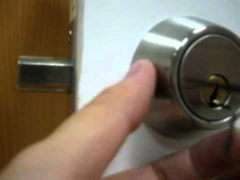 How To Guide: Pick A Deadbolt Lock With Bobby Pins EASY Tutorial   YouTube