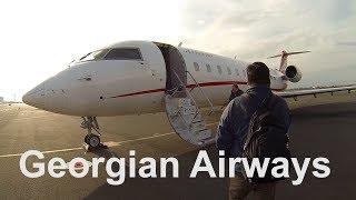 Перелет Ереван - Тбилиси на CRJ-200 а/к Georgian Airways