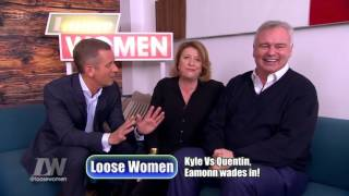 Eamonn Holmes And Caroline Quentin End Up In A Love Triangle With Jeremy Kyle