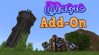 Minecraft Bedrock Editon Magic Spells Addon/Mod Download