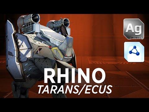 Rhino Tarans/Ecus - War Robots - Gameplay (Springfield)