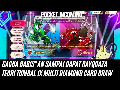 Gacha Limited S+ Sampai Dapat Rayquaza   Pokemon   Pocket Incoming