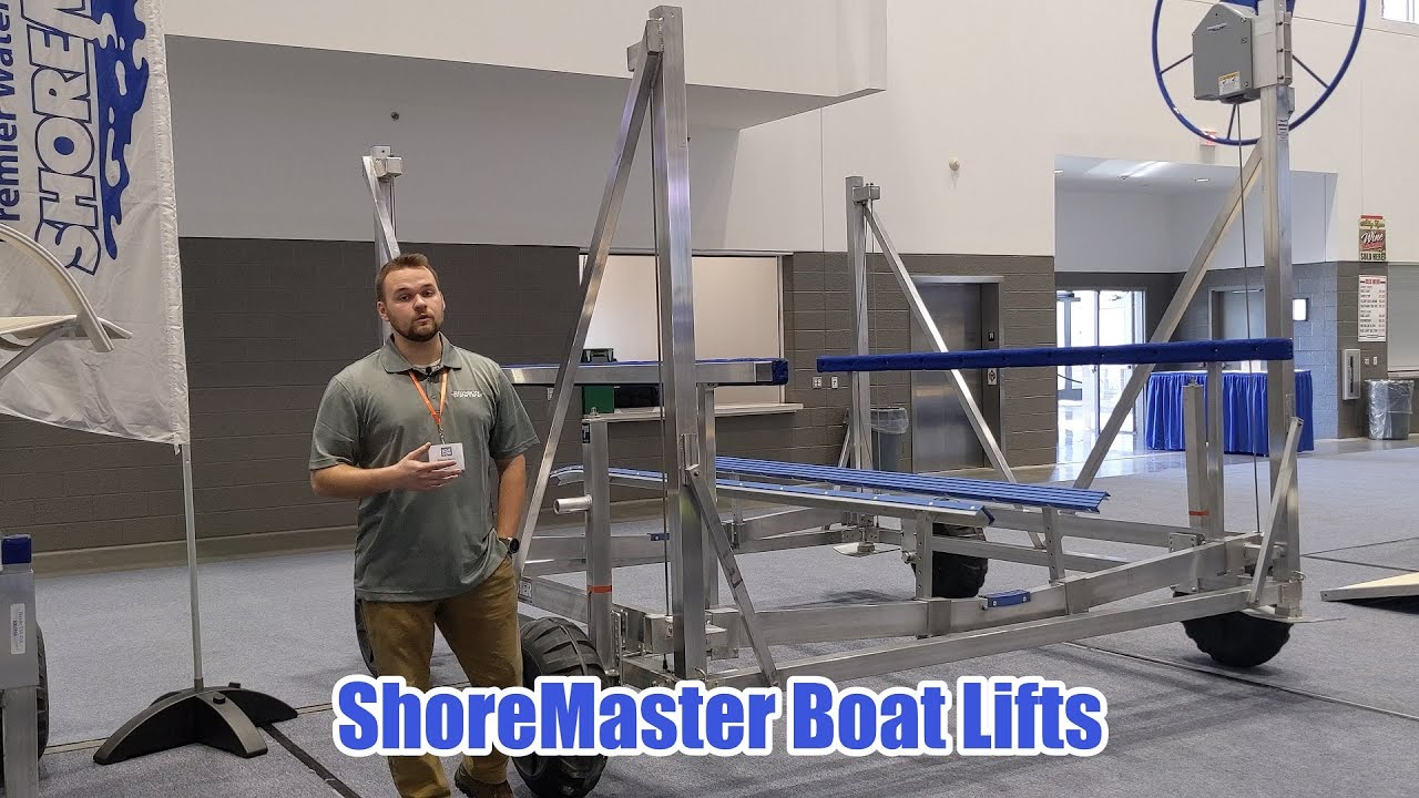ShoreMaster Boat Lift Overview