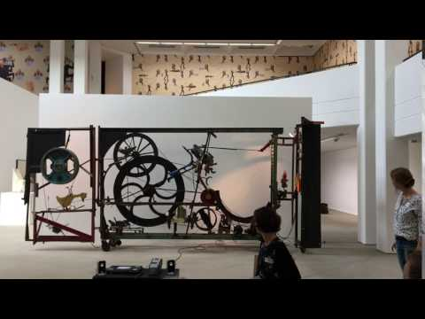 Tinguely Sculpture at the Lehmbruck Museum