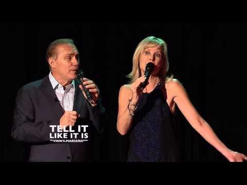 Deborah Rennard and Al Sapienza 1: TELL IT LIKE IT IS The Vinny and Mariana  HD