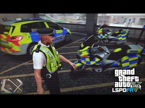 GTA 5 LSPDFR - URBAN MET POLICE PATROL - The British way #97