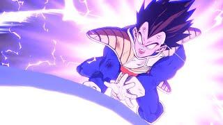 Dragon Ball FighterZ Easter Egg: Goku vs Vegeta Beam Battle Dramatic Finish (Japanese & English Dub)