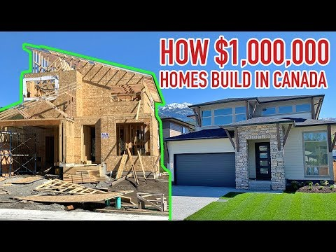 How Houses Are Built In Vancouver | Canadian Homes Made Of Wood