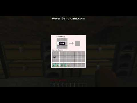 minecraft how to craft lever button and pressure