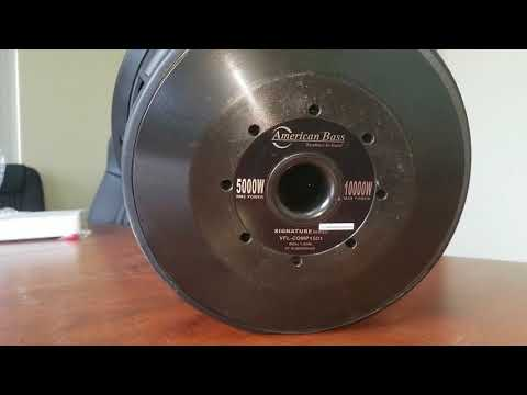 American Bass VFL COMP-SIGNATURE Sub Reveal!