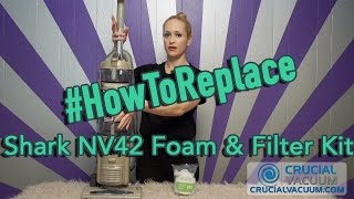 Replace Your Shark NV42 Foam & Filter Kit, Part # XFF36.mp3
