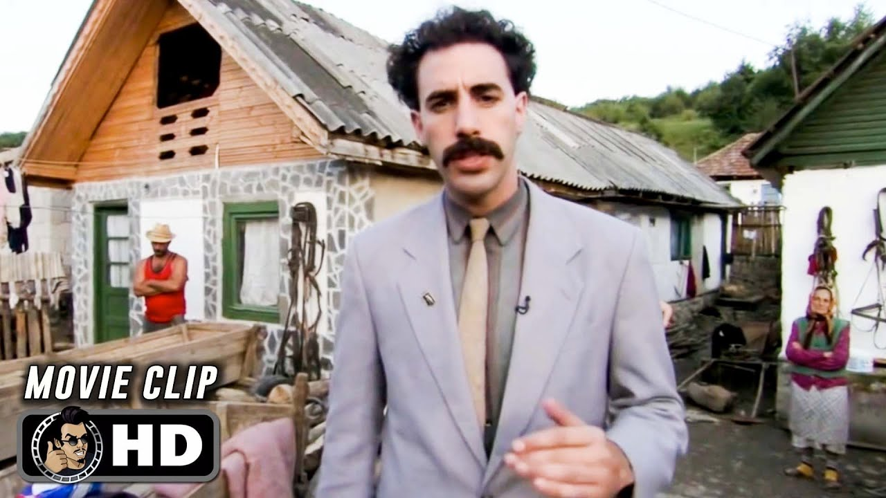 BORAT Clip - My Name Borat (2006) Sacha Baron Cohen - YouTube