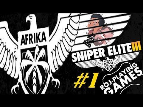 Rock & Rojo w Sniper Elite III: Afrika (#1) Głośny i cichy snajper (Roj-Playing Games!)