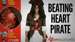 Morph Costumes - Beating Heart Pirate (Female)