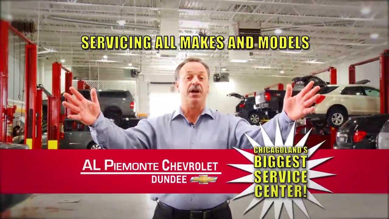 Al Piemonte Chevy >> Al Piemonte Chevy Service Center Youtube