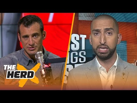 Nick Wright on Melo's impact on the Rockets' roster, Rookie QBs in the NFL  THE HERD