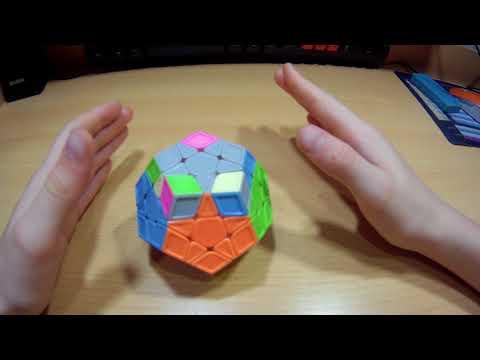 Как собрать мегаминкс.How To Solve Megaminx.3/3