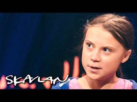 Full Interview With Greta Thunberg: –Haters Should Do Something Useful Instead | SVT/TV 2/Skavlan
