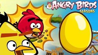 Angry Birds Seasons - GOLDEN EGG 2 (Summer Camp) - Level 19