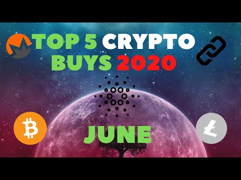 Top 5 Crypto picks Set To Explode in 2020! – June