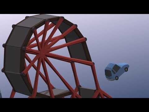 THE LOOP AND JUMP - Poly Bridge