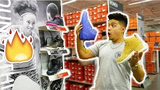 NIKE OUTLET HAD TOO MANY RARE JORDANS!!