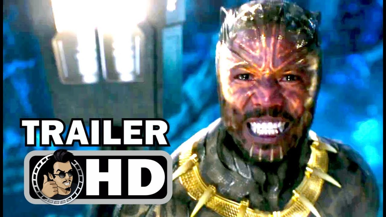 BLACK PANTHER Official Trailer – Killmonger Fight (2018) Marvel Superhero Movie HD