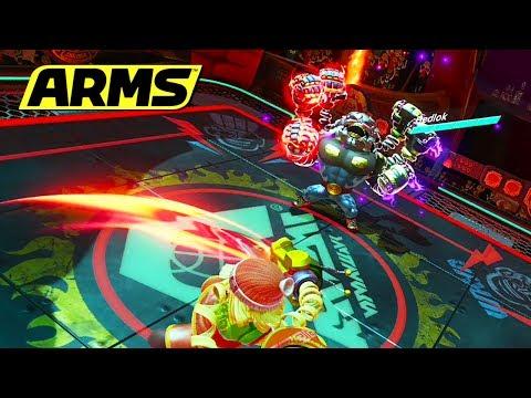 Make ¡VENCIENDO AL JEFE FINAL DE ARMS! | Nintendo Switch Screenshots