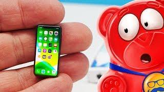 НОВЫЙ МИКРО  IPHONE 12  И 12 АНТИСТРЕССОВ НА ДЕНЬ МЕДВЕДЯ ВАЛЕРЫ