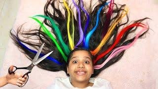 शफ़ा के रंगीन बालों की कहानी।