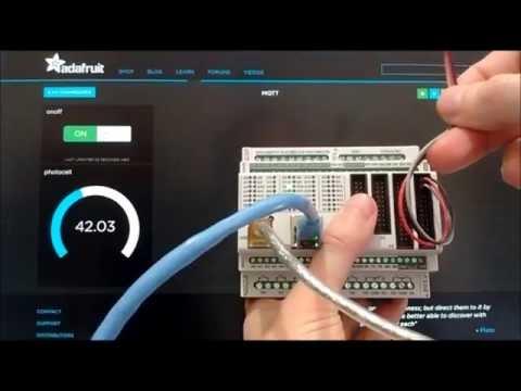 Visuino: Use the Adafruit IO MQTT to Remotely Access and