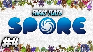 Let's Play Spore [Herbivore] - Part 4 - Tribal Stage