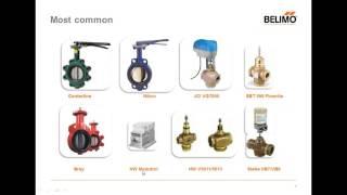Retrofit Solutions for Valves and Damper Actuators