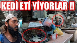 Kedi Eti Yiyorlar !! İkiz Kuleleri Ziyaret Ettim Malezya ~123
