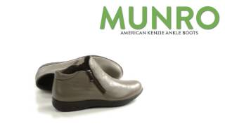 Munro American Kenzie Ankle Boots - Leather (For Women)